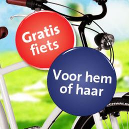 Gratis fiets winnen